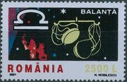 Romania 2001 The Signs of the Zodiac b
