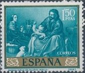 Spain 1960 Painters - Bartolomé Esteban Murillo g