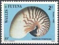 Wallis and Futuna 1985 Sea Shells a