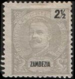 Zambezia 1898 D. Carlos I a