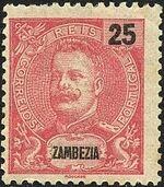 Zambezia 1903 D. Carlos I b