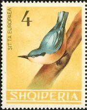 Albania 1964 Birds f