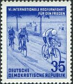 Germany DDR 1953 6th International Bicycle Peace Race b
