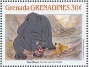 Grenada Grenadines 1988 The Disney Animal Stories in Postage Stamps 2i