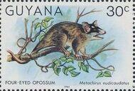 Guyana 1981 Wildlife k