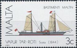 Malta 1985 Maltese Ships (3rd Series) a