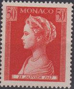 Monaco 1957 Birth of Princess Caroline h