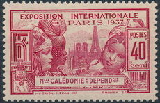 New Caledonia 1937 Paris International Exposition c