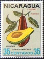 Nicaragua 1968 Fruits f