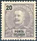 Ponta Delgada 1897 D. Carlos I e
