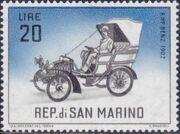 San Marino 1962 Automobiles (pre-1910) h