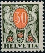 Switzerland 1924 Postage Due Stamps f