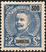 Zambezia 1898 D. Carlos I m