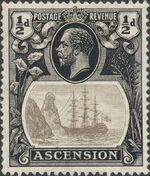 Ascension 1924 Seal of the Colony aa