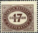 Austria 1947 Postage Due Stamps - Type 1894-1895 with 'Republik Osterreich' j
