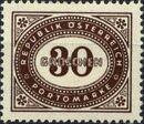 Austria 1947 Postage Due Stamps - Type 1894-1895 with 'Republik Osterreich' n