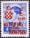 Croatia 1941 Anniversary of Independence g