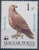 Hungary 1983 WWF - Birds of Prey a