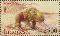 Indonesia 2000 WWF Komodo Dragon e
