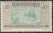 Mauritania 1913 Pictorials k