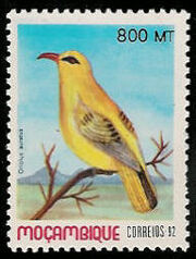 Mozambique 1992 Birds of Moçambique (4th Issue) f