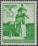 Poland-General Government 1940 Buildings (1st Group) c
