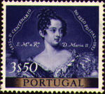Portugal 1953 Centenary of Portugal's First Postage Stamp e