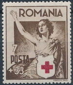 Romania 1941 Red Cross d