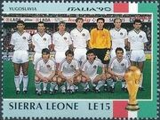 Sierra Leone 1990 Football World Cup in Italy g
