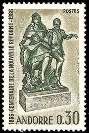 Andorra-French 1967 100th Anniversary of the New State Reform a
