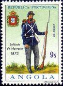 Angola 1966 Military Uniforms l