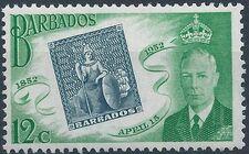 Barbados 1952 Centenary of Barbados Postage Stamps c