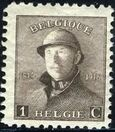 Belgium 1919 King Albert in Trench Helmet a