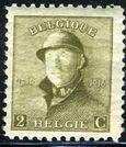 Belgium 1919 King Albert in Trench Helmet b