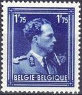 Belgium 1944 King Leopold III Crown and V c