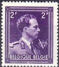 Belgium 1944 King Leopold III Crown and V d