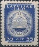 Latvia 1940 Arms of Soviet Latvia i