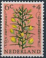 Netherlands 1960 Surtax for Child Welfare - Flowers b