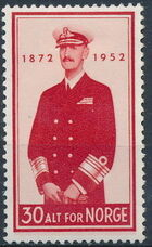 Norway 1952 80th Birthday of King Haakon VII a