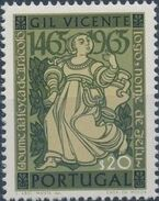 Portugal 1965 500th Birthday of Gil Vicente a