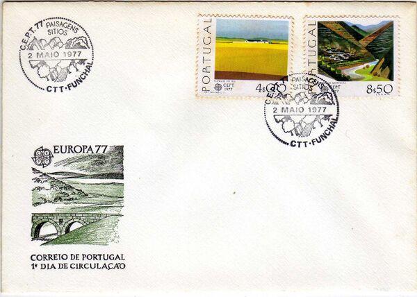 Portugal 1977 Europa d