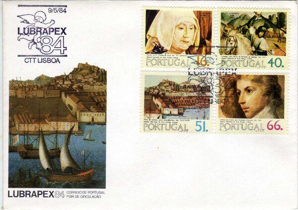 Portugal 1984 Portugues-Brazilian Stamp Exhibition LUBRAPEX '84 g