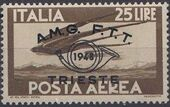 Trieste-Zone A 1948 Trieste Philately Congress-Air Post Stamps f