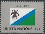 United Nations-New York 1989 Flag Series b