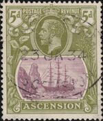 Ascension 1924 Seal of the Colony ga