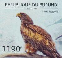 Burundi 2012 Birds of prey k