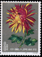 China (People's Republic) 1961 Chrysanthemums (3rd Group) c
