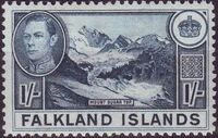 Falkland Islands 1938 George VI and Landscape (1st Issue) f