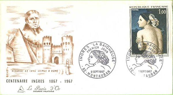 France 1967 French Art (1967-3) FDCc