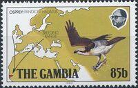 Gambia 1983 Osprey Breeding Range c